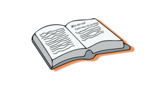 Open dictionary with internal communication
